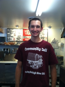 Josh Braun of Community Deli