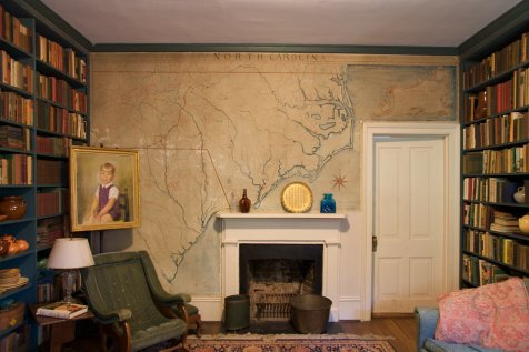 Front Room with Colonial Carolinas Mural