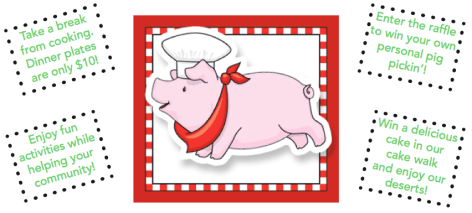 Pig Pickin' - Pig Graphic