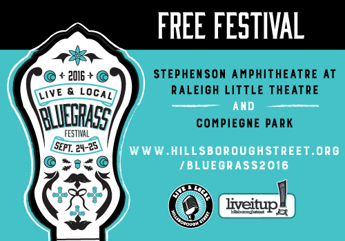 3rd Annual Live & Local: Bluegrass Festival