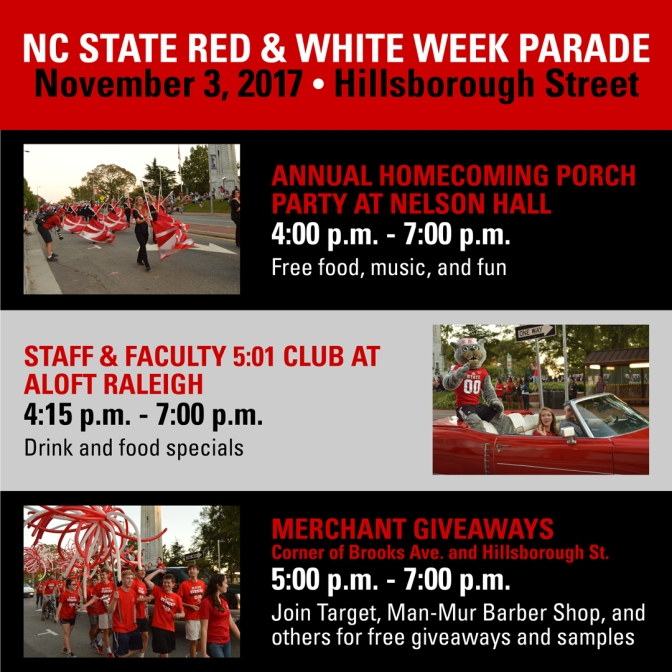 NC State Homecoming Parade